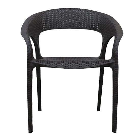 Nilkamal Club Chair Rust Brown Color Set Of 4