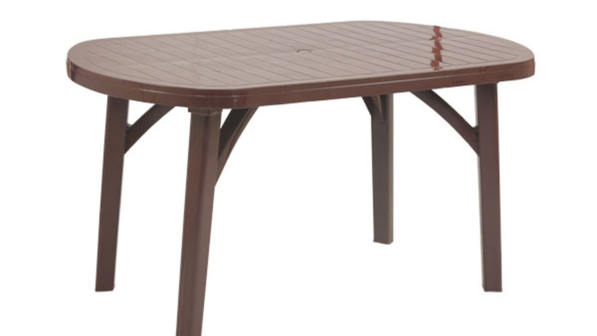 Supreme Corsa Six Seater Dining Table Brown